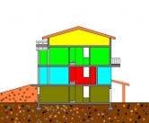 Villa in vendita a Montechiarugolo, 6 locali, prezzo € 450.000 | Cambio Casa.it