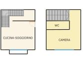 Appartamento in affitto a Monteviale, 2 locali, zona Zona: Costigiola, prezzo € 430 | Cambio Casa.it