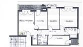 Appartamento in vendita a Ponte San Nicolò, 4 locali, zona Località: Ponte San Nicolò, prezzo € 125.000 | Cambio Casa.it