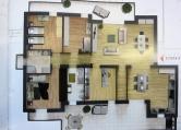 Attico / Mansarda in vendita a Albignasego, 5 locali, zona Località: Ferri, prezzo € 340.000 | Cambio Casa.it