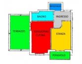 Appartamento in affitto a San Michele all'Adige, 2 locali, zona Zona: Grumo, prezzo € 500 | Cambio Casa.it