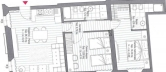 Appartamento in vendita a Cesena, 3 locali, zona Zona: CENTRO STORICO, prezzo € 260.000 | CambioCasa.it