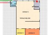 Ufficio / Studio in affitto a Pavia, 3 locali, zona Località: San Pietro - Viale Cremona, prezzo € 1.500 | Cambio Casa.it