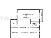 Appartamento in vendita a Loreggia, 4 locali, zona Zona: Loreggiola, prezzo € 47.250 | CambioCasa.it