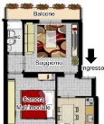 Appartamento in vendita a Sesto San Giovanni, 2 locali, prezzo € 94.000 | Cambiocasa.it